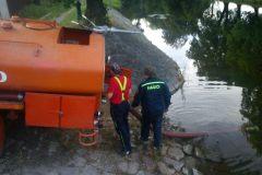 nábírání vody Žamberk
