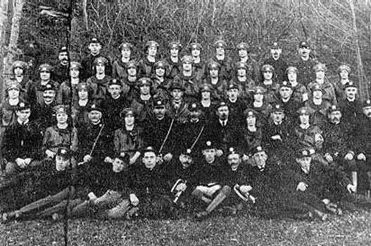 Hasičský spolek kolem r. 1925